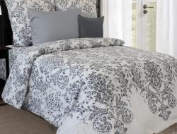 Полуторное постельное белье из бязи «Лакшери»
