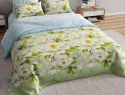Двуспальное постельное белье из бязи «Магнолия 3D»