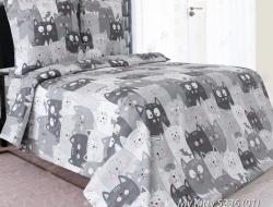 Полуторное постельное белье «My Kitty 01»