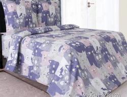 Полуторное постельное белье «My Kitty 02»