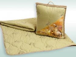Облегченное полуторное одеяло 140х205 Nesaden «Верблюд-Эконом»