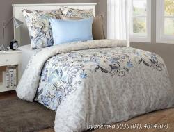 Полуторное постельное белье из бязи «Вуалетка»