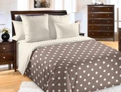 Полуторное постельное белье из поплина «Элис»