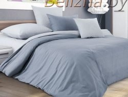 Полуторное постельное белье из поплина «Горный Ветер»