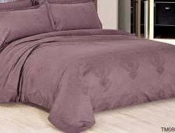 Полуторное постельное белье из сатин-жаккарда «TM0805»