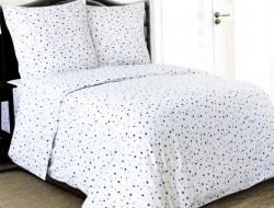 Полуторное постельное белье «Звезды 4984»