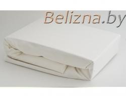 Простынь на резинке 90x200 «Белая»