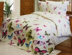 Семейное постельное белье ДУЭТ «Бабочки»