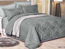 Полуторное постельное белье из сатин-жаккарда «TM17-1502»