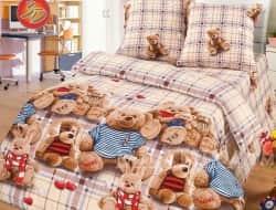 Детское постельное белье 3D «Топтыжки»