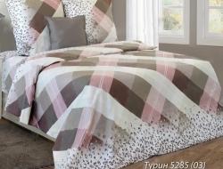 Полуторное постельное белье из бязи «Турин 03»