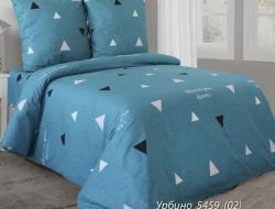 Двуспальное постельное белье из бязи «Урбино бирюзовый»