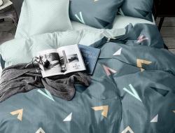 Двуспальное постельное белье из поплина «HZ1161»