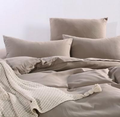 Двуспальное постельное белье из сатина «004»