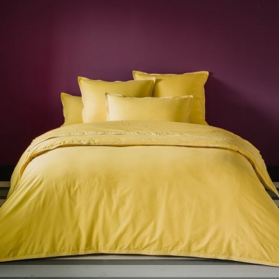 Полуторное постельное белье из сатина «006»