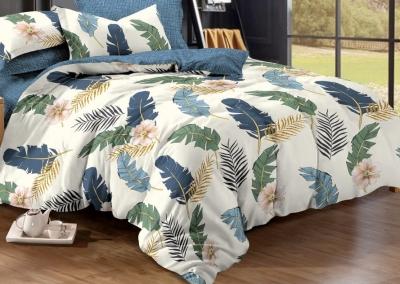 Двуспальное постельное белье из поплина «1017»