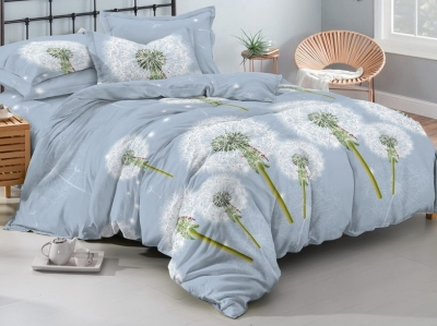 Двуспальное постельное белье из поплина «1113»