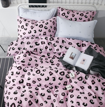 Двуспальное постельное белье из твил-сатина «19-174»