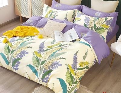 Двуспальное постельное белье из твил-сатина «20-11»