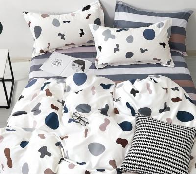 Полуторное постельное белье из твил-сатина «21-10»