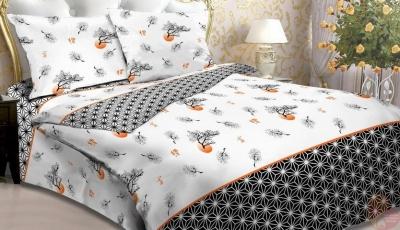 Полуторное постельное белье из бязи «3867»