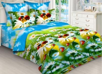 Полуторное постельное белье из бязи «4515»