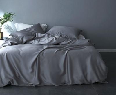 Полуторное постельное белье из сатина «5606»