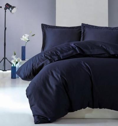 Полуторное постельное белье из сатина «5612»