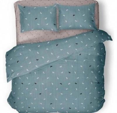 Полуторное постельное белье из бязи «Стрекоза 5866»