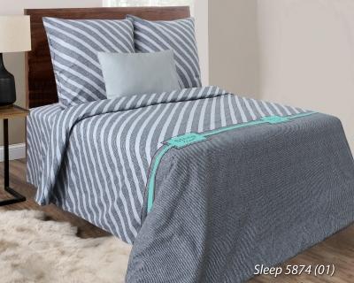 Двуспальное постельное белье из бязи «5874-02»