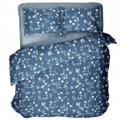 Полуторное постельное белье из бязи «5893»