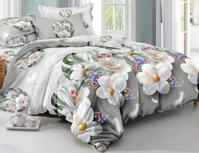 Двуспальное постельное белье из поплина «792»