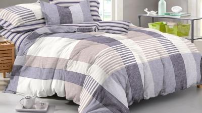 Двуспальное постельное белье из поплина «976»