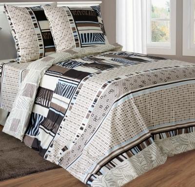 Полуторное постельное белье из бязи «Амстердам 3962»