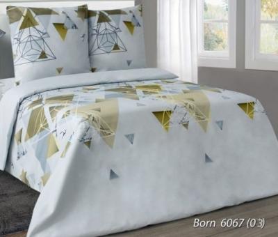 Постельное белье ЕВРО из бязи «Born 6067-03»