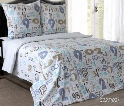 Двуспальное постельное белье из бязи «Цифры 02»