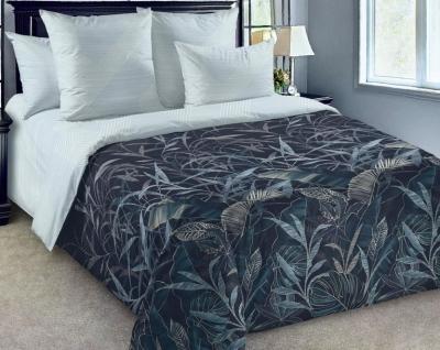 Двуспальное постельное белье из поплина «Контур»