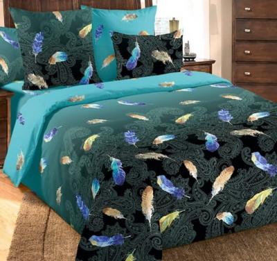 Полуторное постельное белье из бязи «Дуновение»