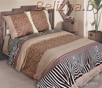 Двуспальное постельное белье из бязи «Малибу»