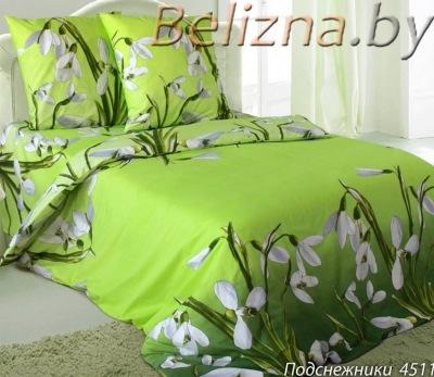 Двуспальное постельное белье из бязи «Подснежники»