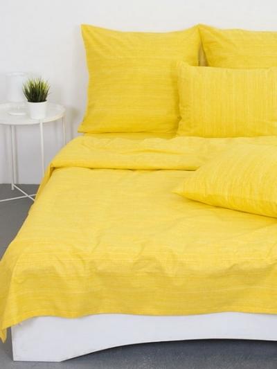 Полуторное постельное белье из поплина «Эко (вид11)»