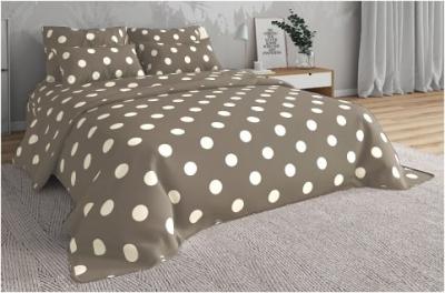 Двуспальное постельное белье из бязи «Горошки»