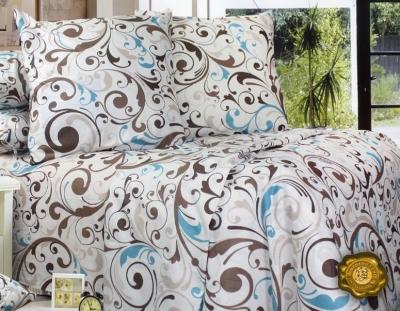 Полуторное постельное белье из бязи «Леон»