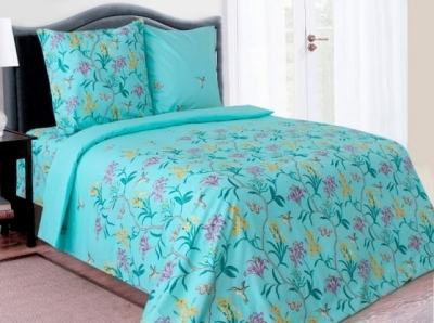 Полуторное постельное белье из бязи «Лилли 02»
