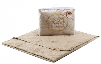 Облегченное полуторное одеяло 140х205 Nesaden  «Престиж-Верблюд»