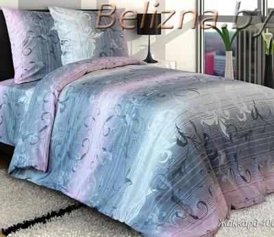 Полуторное постельное белье из бязи «Жаккард»