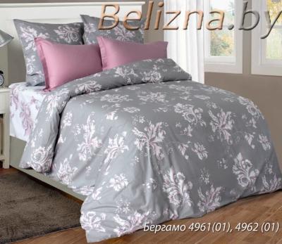 Полуторное постельное белье из бязи «Бергамо»