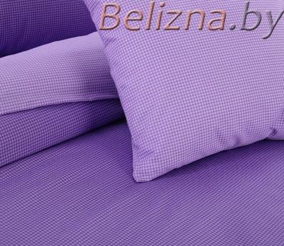 Полуторное постельное белье из поплина «Ежевичный смузи»