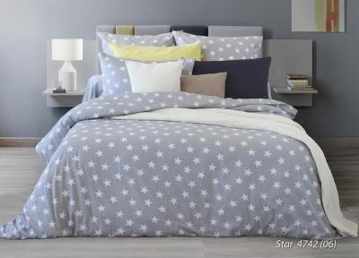 Полуторное постельное белье из бязи «STAR»