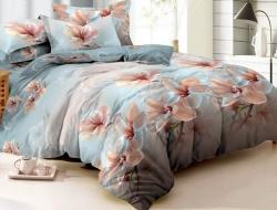 Двуспальное постельное белье из поплина «1098»